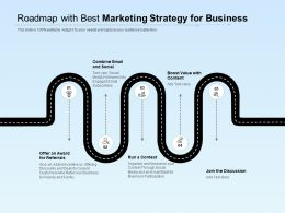 Roadmap With Best Marketing Strategy For Business