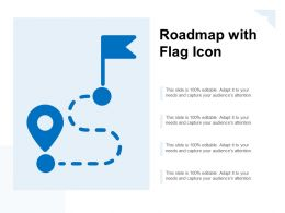 Roadmap With Flag Icon