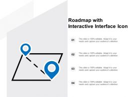 Roadmap With Interactive Interface Icon