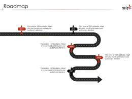 Roadmap Yelp Investor Funding Elevator Pitch Deck