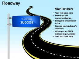 Roadway Powerpoint Presentation Slides
