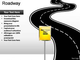 Roadway Powerpoint Presentation Slides
