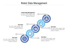 Robot Data Management Ppt Powerpoint Presentation Inspiration Layout Cpb