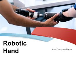 Robotic Hand Technology Anatomy Artificial Intelligence Mechanical Device Performing