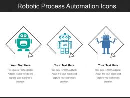 Robotic Process Automation Icons