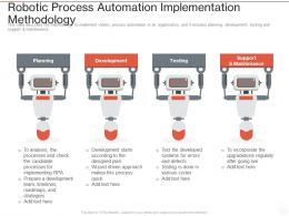 Robotic Process Automation Implementation Methodology Ppt Powerpoint Presentation Layouts