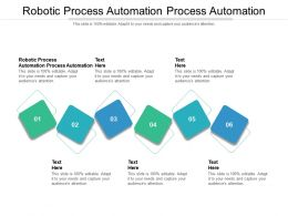 Robotic Process Automation Process Automation Ppt Powerpoint Presentation Outline File Cpb