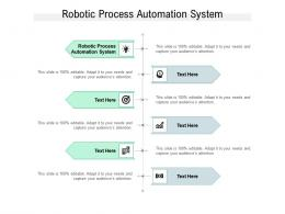 Robotic Process Automation System Ppt Powerpoint Presentation Professional Design Inspiration Cpb