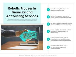 Robotic Process In Financial And Accounting Services