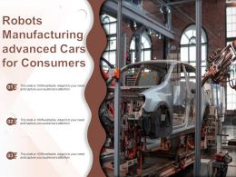Robots Manufacturing Advanced Cars For Consumers