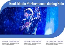 Rock Music Performance During Rain