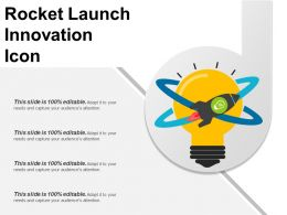 Rocket Launch Innovation Icon