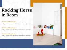 Rocking Horse In Room