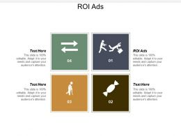ROI Ads Ppt Powerpoint Presentation Infographics Inspiration Cpb