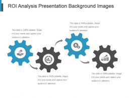 Roi Analysis Presentation Background Images
