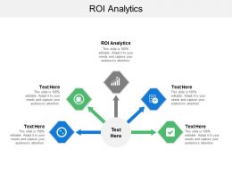 Roi Analytics Ppt Powerpoint Presentation File Maker Cpb