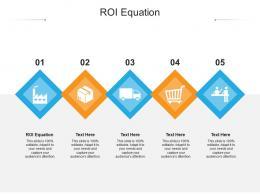 ROI Equation Ppt Powerpoint Presentation Styles Design Ideas Cpb