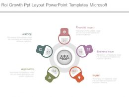 Roi Growth Ppt Layout Powerpoint Templates Microsoft