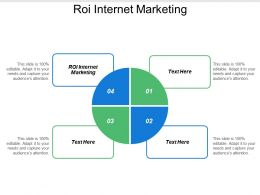 Roi Internet Marketing Ppt Powerpoint Presentation File Graphics Pictures Cpb