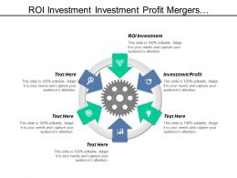 Roi Investment Profit Mergers Acquisitions Account Management Cpb