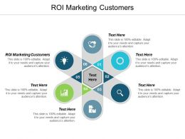 Roi Marketing Customers Ppt Powerpoint Presentation Styles Influencers Cpb