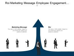 Roi Marketing Message Employee Engagement Activities Diversity Inclusion Cpb