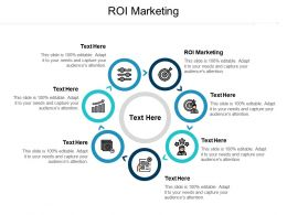 ROI Marketing Ppt Powerpoint Presentation Infographics Summary Cpb