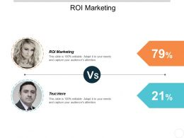 Roi Marketing Ppt Powerpoint Presentation Inspiration Layout Cpb