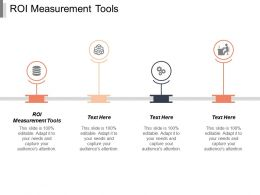 Roi Measurement Tools Ppt Powerpoint Presentation Icon Information Cpb