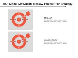 Roi Model Motivation Maslow Project Plan Strategy Formulation Cpb