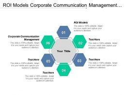 Roi Models Corporate Communication Management Factor Success Executives Salaries Cpb
