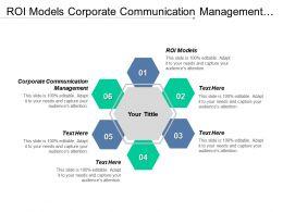 Roi Models Corporate Communication Management Factor Success Executives Salaries Cpb