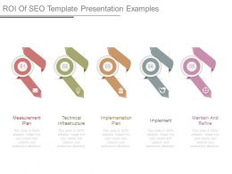 Roi Of Seo Template Presentation Examples