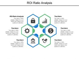 Roi Ratio Analysis Ppt Powerpoint Presentation Model Graphics Download Cpb