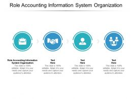 Role Accounting Information System Organization Ppt Powerpoint Presentation Slide Cpb