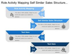 Role Activity Mapping Self Similar Sales Structure Segmentation Positioning