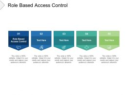 Role Based Access Control Ppt Powerpoint Presentation Influencers Cpb