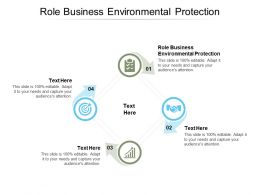 Role Business Environmental Protection Ppt Powerpoint Presentation Ideas Graphic Tips Cpb