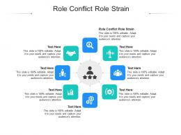 Role Conflict Role Strain Ppt Powerpoint Presentation Styles Slide Cpb