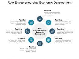 Role Entrepreneurship Economic Development Ppt Powerpoint Presentation Infographic Topics Cpb
