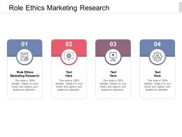 Role Ethics Marketing Research Ppt Powerpoint Presentation Layouts Mockup Cpb