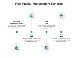 Role Facility Management Function Ppt Powerpoint Presentation Outline Design Cpb