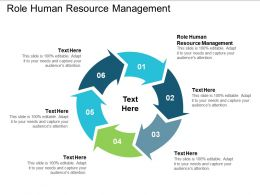 Role Human Resource Management Ppt Powerpoint Presentation Professional Brochure Cpb