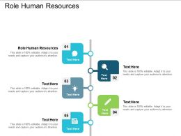 Role Human Resources Ppt Powerpoint Presentation Ideas Graphics Download Cpb