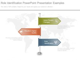 Role Identification Powerpoint Presentation Examples