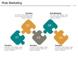 Role Marketing Ppt Powerpoint Presentation File Design Inspiration Cpb