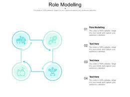 Role Modelling Ppt Powerpoint Presentation Inspiration Background Cpb