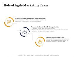 Role Of Agile Marketing Team Tests Ppt Powerpoint Presentation Templates