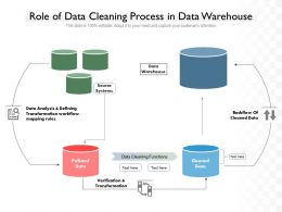 Role Of Data Cleaning Process In Data Warehouse