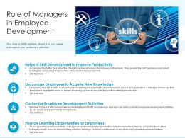Role Of Managers In Employee Development